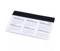 Kompiuterinės pelės kilimėlis su kalendoriumi