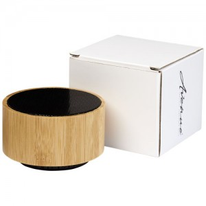 Bambukinė Bluetooth kolonėlė - garsiakalbis
