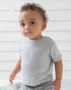 Dryžuoti marškinėliai kūdikiams