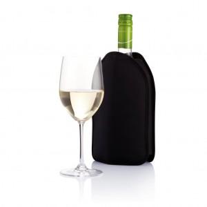 Vyno šaldytuvas įdėklas, juodas