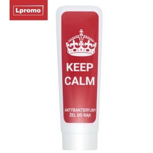Reklaminis antibakterinis rankų gelis su Jūsų logotipu, 50 ml