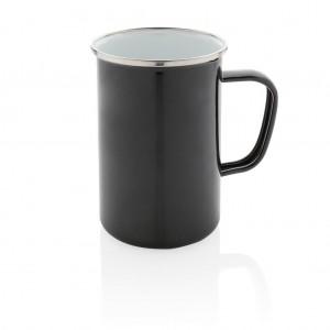 Emaliuotas puodelis