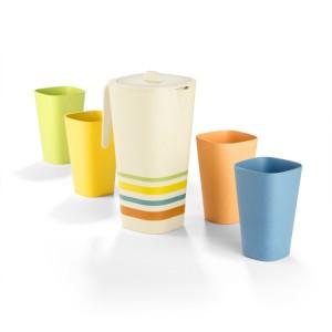 MARTIS firmos dovanų rinkinys (ąsotis 1100 ml + 4 puodeliai 350 ml)