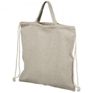 Krepšys, pagamintas iš antrinių medvilnės žaliavų