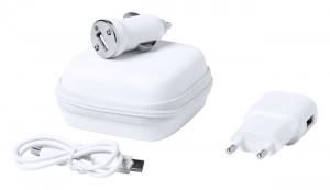 Verslo dovanos Luzzer (USB charger set)