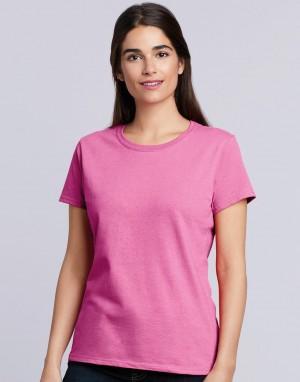 Moteriški T-marškinėliai iš sunkios medvilnės