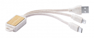 Verslo dovanos Korux (keyring USB charger cable)