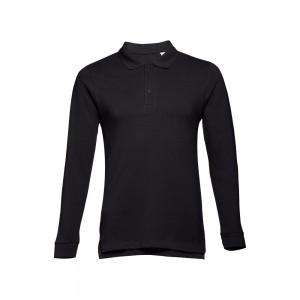 BERN.Vyriški polo marškinėliai ilgomis rankovėmis