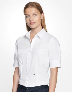 Seidensticker Slim Fit 1/2 Kent. Moteriški marškiniai