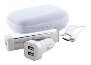 USB įkroviklis ir USB išorinė baterija Nacorap