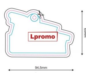 Automobiliniai kvapai su spauda, forma lpf934