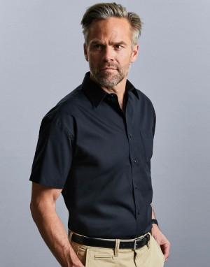Cotton Poplin Shirt. Vyriški marškiniai