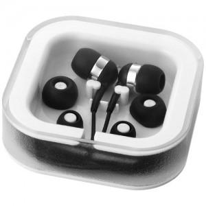 Sargas firmos ausinės su mikrofonu
