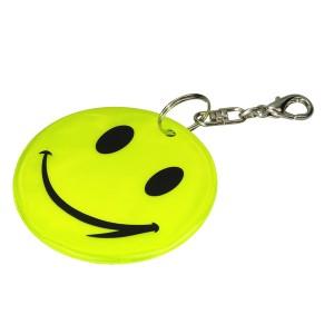Veidukas - šypsenėlė atšvaitas, raktų pakabukas