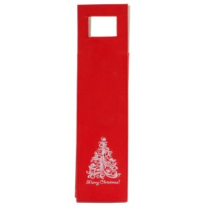 Vyno maišelis su Kalėdų motyvais