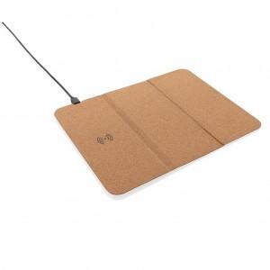 Belaidis kamštinis pelės įkrovimo kilimėlis ir laikiklis (5 W)