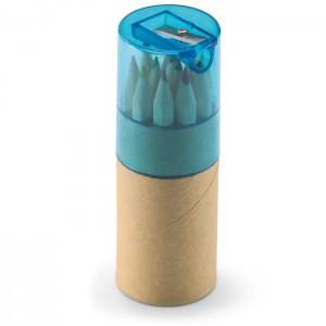 12 spalvotų pieštukų