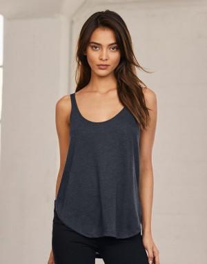 Moteriški laisvo kritimo berankoviai marškinėliai su skeltukais šonuose