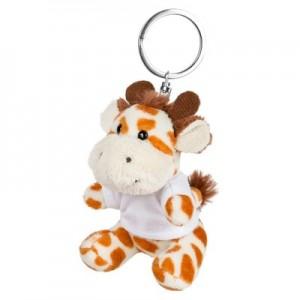 Lizzy pliušinė žirafa, raktų pakabukas
