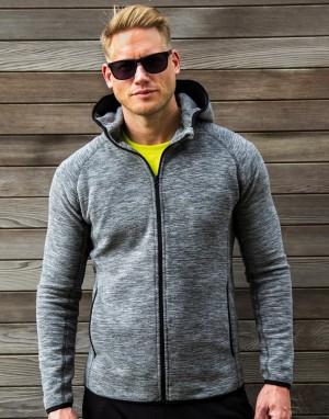 Vyriškas mikroflisinis džemperis su gobtuvu