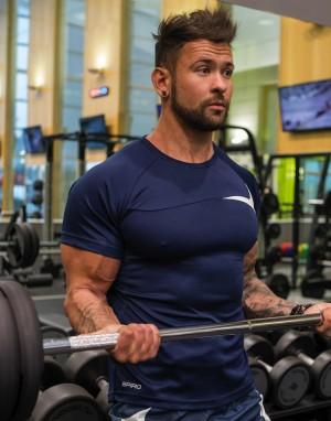 Vyriški treniruočių marškinėliai