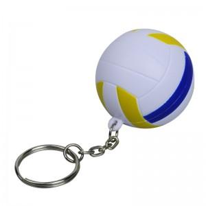 Tinklinio kamuolio antistresinis raktų pakabukas