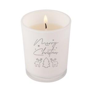 Žvakė su Kalėdų motyvas