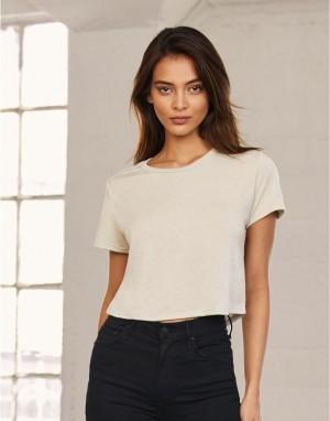Moteriški laisvo, atpalaiduoto kritimo, patrumpinti marškinėliai