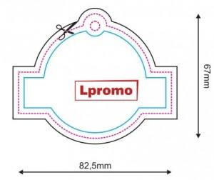 Auto kvapai su logotipu, apskritimas