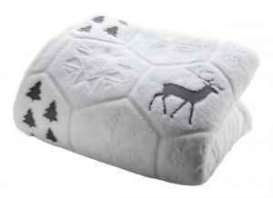Verslo dovanos Sundborn (Christmas blanket)