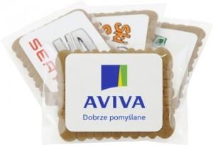 Reklaminiai sausainiai su Jūsų įmonės reklama ar logotipu
