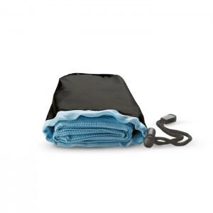 Sportinis rankšluostis su nailono maišeliu