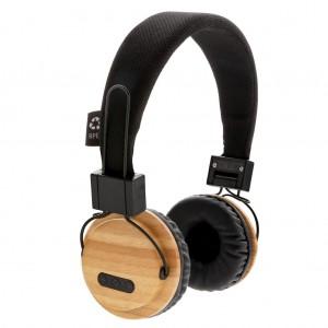 Belaidės ausinės iš bambuko
