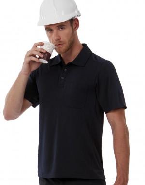 COOLPOWER POCKET POLO. Polo marškinėliai