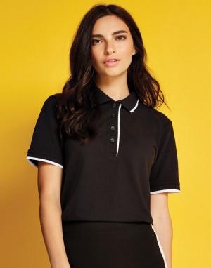 WOMENS CLASSIC FIT ESSENTIAL POLO. Moteriški polo marškinėliai