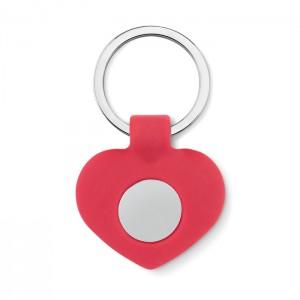 Silikoninis raktų pakabukas su žetonu