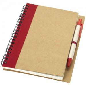 Priestly perdirbta užrašų knygelė su rašikliu