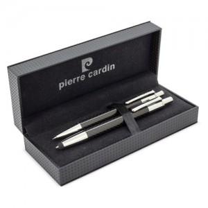 Rašiklis ir mechaninis pieštukų rinkinys lietimui jautrus anglies pluošto Pierre Cardin