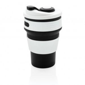 Sulankstomas silikono puodelis