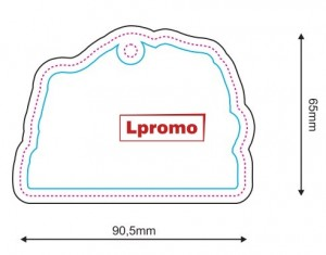 Pakabinami automobiliniai kvapai, forma lpf1139