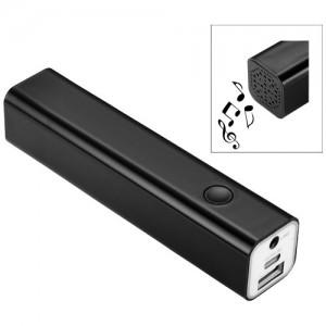 Bluetooth nešiojama baterija ir garsiakalbis