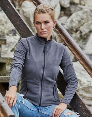 Moteriškas sportinis flisinis džemperis
