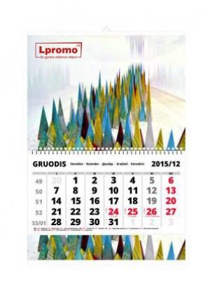 Vienos dalies kalendorius