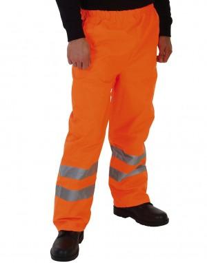 Fluorescencinės oranžinės  spalvos kelnės