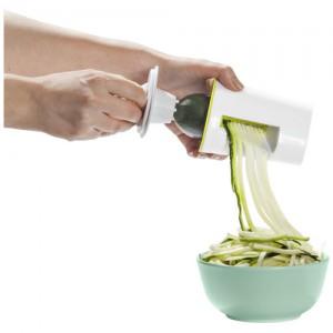 Žalių daržovių spiralinis pjaustytuvas
