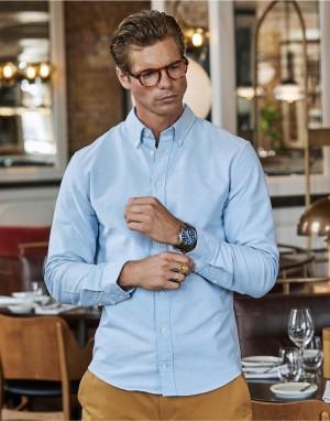 Perfect Oxford Shirt. Vyriški mrškiniai