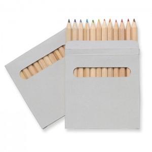 12 spalvų pieštukų rinkinys