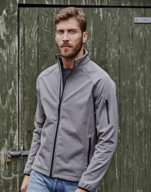 Vyriškas minkšto paviršiaus sportinis  džemperis iš Softshell audinio