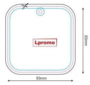 Automobiliniai kvapai su logo, forma lpf1055