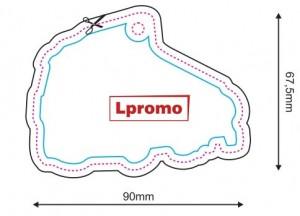 Automobiliniai kvapai, forma lpf1077
